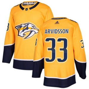 Adidas Predators  33 Viktor Arvidsson Yellow Home Authentic Stitched Youth  NHL Jersey 40d886b63a1